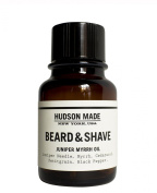 Hudson Made - Organic Juniper Myrrh Beard + Shave Oil