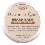 Bearded Gent | Beard Balm Spiced Tobacco Leave-in All Natural Butters & Oil Beard Conditioner