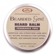 Bearded Gent | Beard Balm Fragrance Free Leave-in All Natural Butters & Oil Beard Conditioner