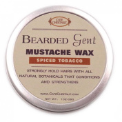 Bearded Gent Moustache Wax | Spiced Tobacco All Natural Hold and Conditioner