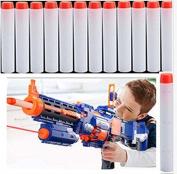 Yosoo 50pcs 7.2cm Toy Gun Soft Bullet Toy Bullet Refill Darts Sniper Bullet Blaster for Nerf N-Strike Mega Centurion Toy Gun