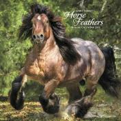 2017 Horse Feathers Wall Calendar
