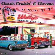 2017 Classic Cruisin' & Chrome Wall Calendar