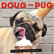 Doug the Pug 2017 Wall Calendar