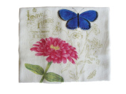 Alice's Cottage Love Flowers Flour Sack Towel - Kitchen Linens