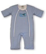 Baby Merlin's Magic Sleepsuit Cotton Poly- Blue- Large