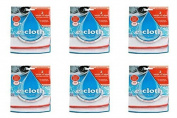 (6 PACK) - E-Cloth Antibacterial Wash & Wipe Kitchen Cloth | 2 pac pack | 6 P...