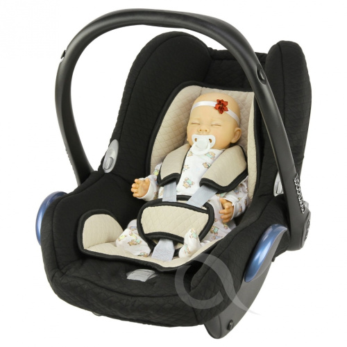 replacement seat cover fits maxi cosi cabriofix group 0 infant carrier full set ebay. Black Bedroom Furniture Sets. Home Design Ideas