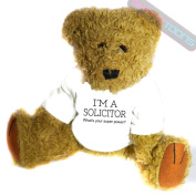 Solicitor Novelty Gift Teddy Bear