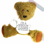 Window Cleaner Novelty Gift Teddy Bear