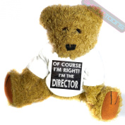 Director Novelty Gift Teddy Bear
