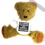 Supply Teacher Novelty Gift Teddy Bear