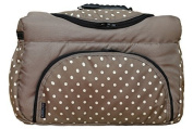 TP-46 nappy bag shopper Travel bag PIA by baby-joy xxxl tall beige points Nappy Changing Bag Baby Bag Ttote Bag