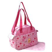 GMMH 2-Piece Pink Baby Changing Bag, Nursing Bag, Baby Travel Bag, Choice of Colours