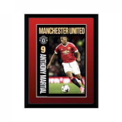 Manchester United F.c. Picture Martial 8 X 6 Framed Picture 20cm X 15cm Official Licenced