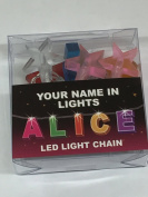 Your Name In Lights- Alice