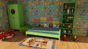 ING-15210-Carpet Original Brand DISNEY For Children (140x80 Cm) (Galleria farah1970) #