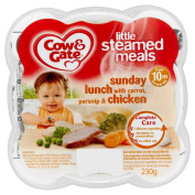 Cow and Gate Sunday Lunch with Carrot, Parsnip and Chicken Little Steamed Meal 230 g