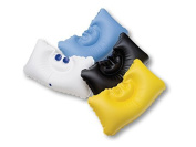 Dr. Winkler 430 Bathtub cusion -yellow - inflatable with 2 Suction pads for Mud baths