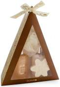 BRUBAKER Cosmetics 4-Piece Bath Gift Set 'Pyramid' Gold