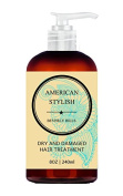 Dry Hair Treatment Leave In - with Coconut oil, Shea Butter, Amber Extract, Vitamin E, Panthenol and Silk Peptides