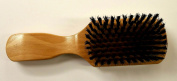Boar Bristle Wooden Handle Club Brush for Everyday General Grooming