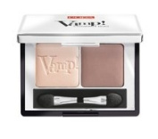PUPA Milano Vamp! Compact Eyeshadow Duo, Milk Chocolate 2.2 g