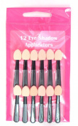 Serenade - 12 Black Soft Sponge Eye shadow Applicators
