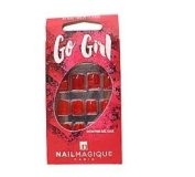 Nail Magique Go Girl 24 Nail Tips - Juicy