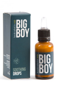 Big Boy Soothing Drops 30 ml - ideal treatment for skin under the beard and as an aftershave - Made in Italy
