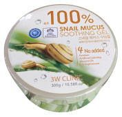 3W Clinic 100% Snail Mucus Soothing Gels Face Body Skin Care Moisturisers