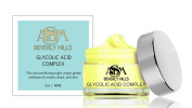 Glycolic Exfoliator - Glycolic cream with 15% Full Strength Glycolic acid, Vitamin A, and Coenzyme Q10