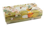 FIORENTINO Profumi del Chianti Miele / Honey Italian soap Gift Set, Boxed Soap, 2 x 150g
