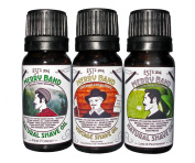 Merry Band Vintage Shave Oil - Set of 3