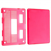 INSTEN Clear Pink Snap-on Laptop Case Cover for Apple MacBook Pro 33cm