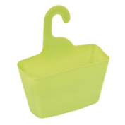 wall shower caddy plastic basket with hanger for