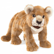 Hand Puppet - Folkmanis - African Lion Cub New Animals Soft Doll Plush Toys 3064