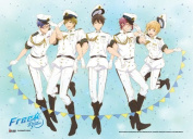 Wall Scroll - Free! - New Group Navy Uniform Anime Art Licenced ge86242