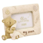Button Corner 'My Scan' resin photo frame 7.6cm x 5.1cm