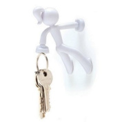 Key Pete Magnetic Key Holder,White