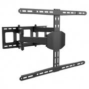 Loctek TV Wall Mount with 80cm - 180cm Mounting Bracket, and Full Motion, and Heavy-duty, Articulat