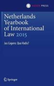 Netherlands Yearbook of International Law 2015: Jus Cogens