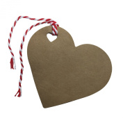 Kraft Tags for Gift Wrapping and Labelling