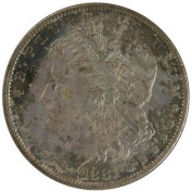 1881-S $1 Morgan Dollar NGC MS65