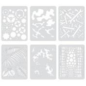 Artool Freehand Airbrush Templates, Template Set