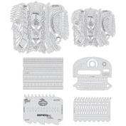 Artool Freehand Airbrush Templates, Biomech Skullbuster Set