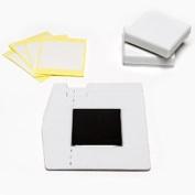 MINT STAMP SHEET KIT 15X15 mm Silhouette Mint Custom Stamp Making Machine