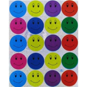 Holographic Smiley Face Stickers