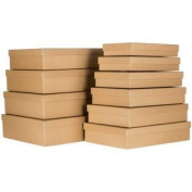 Kraft Nested Rectangle Box SetNew by