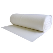 "100% Wool Craft Felt White 1.2 MM X 72"" X 1 Yard"